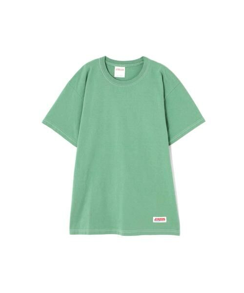 ROSE BUD / ローズ バッド カットソー | JERZEES ディズニーキャラクターTシャツ(グリーン)