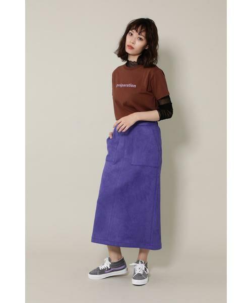 ROSE BUD / ローズ バッド カットソー | バレエプリントTシャツ | 詳細13