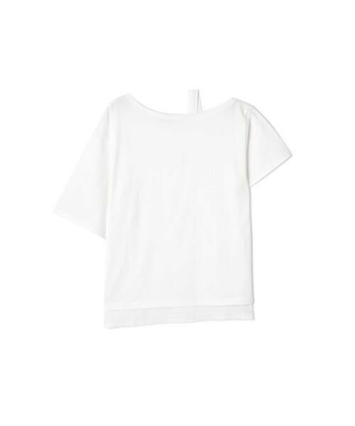 ROSE BUD / ローズ バッド カットソー | ワンショルダービッグTシャツ | 詳細2