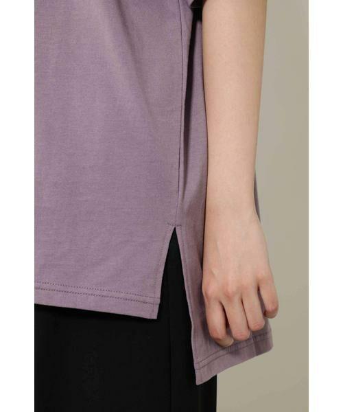 ROSE BUD / ローズ バッド カットソー | ワンショルダービッグTシャツ | 詳細10