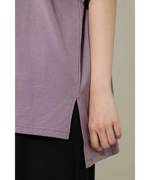 ROSE BUD / ローズ バッド カットソー | ワンショルダービッグTシャツ | 詳細13