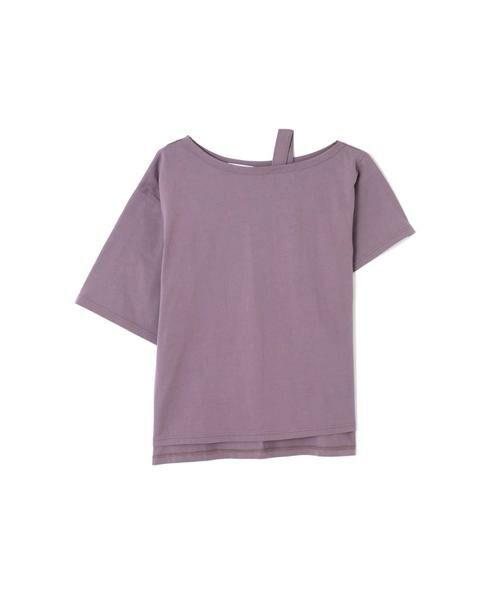 ROSE BUD / ローズ バッド カットソー | ワンショルダービッグTシャツ | 詳細14