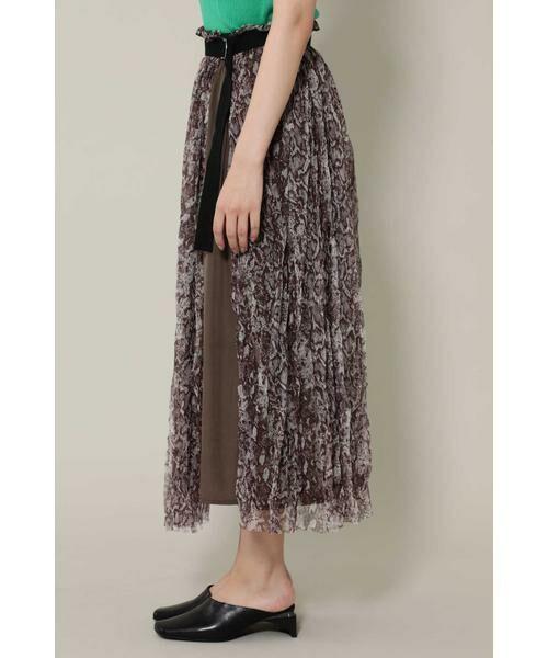 ROSE BUD / ローズ バッド スカート | チュールスカート | 詳細3