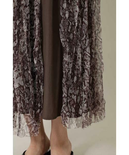 ROSE BUD / ローズ バッド スカート | チュールスカート | 詳細6