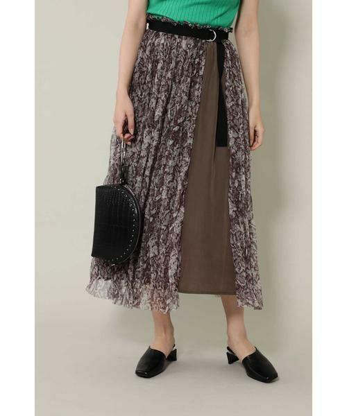 ROSE BUD / ローズ バッド スカート | チュールスカート(グレー)