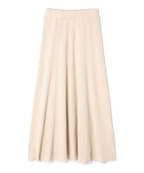 ROSE BUD / ローズ バッド スカート | ワッフルナロースカート(ホワイト)