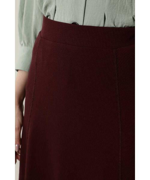 ROSE BUD / ローズ バッド スカート | ワッフルナロースカート | 詳細5