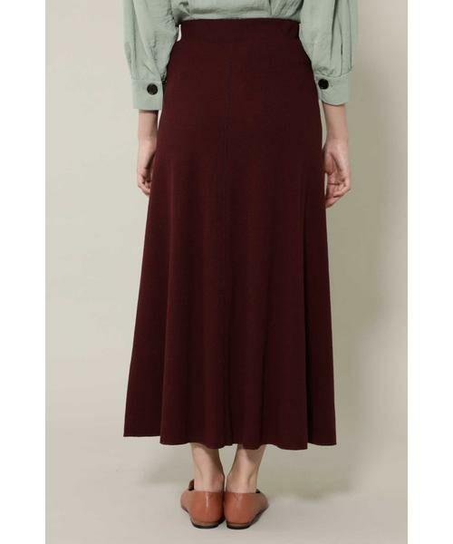ROSE BUD / ローズ バッド スカート | ワッフルナロースカート | 詳細7