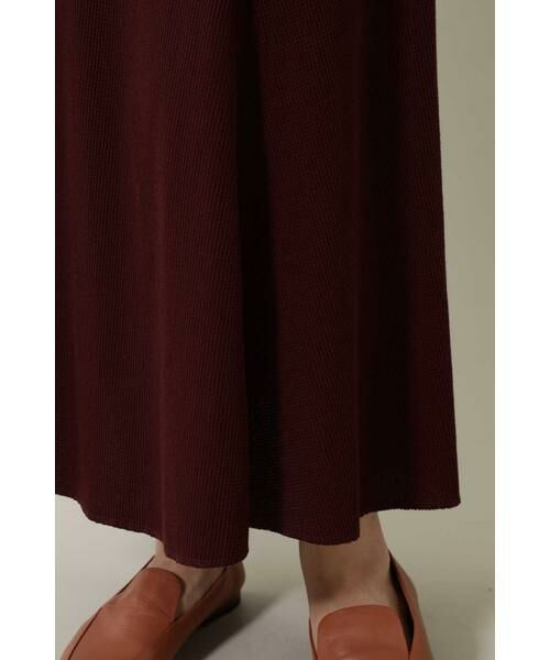 ROSE BUD / ローズ バッド スカート | ワッフルナロースカート | 詳細9