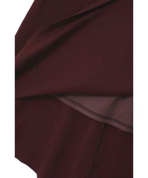 ROSE BUD / ローズ バッド スカート | ワッフルナロースカート | 詳細11