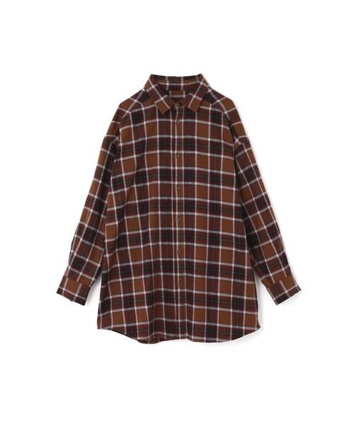 ROSE BUD / ローズ バッド シャツ・ブラウス | バックボタンビッグシャツ | 詳細5