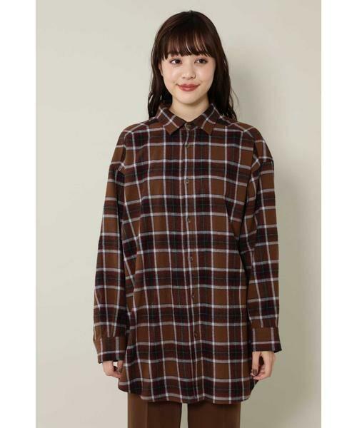 ROSE BUD / ローズ バッド シャツ・ブラウス | バックボタンビッグシャツ | 詳細7