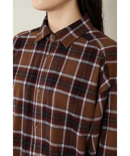 ROSE BUD / ローズ バッド シャツ・ブラウス | バックボタンビッグシャツ | 詳細10