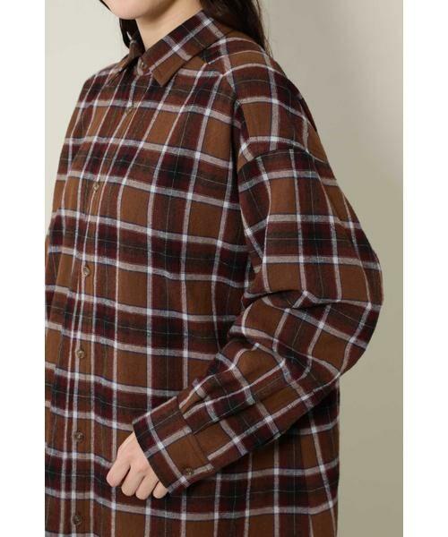 ROSE BUD / ローズ バッド シャツ・ブラウス | バックボタンビッグシャツ | 詳細11