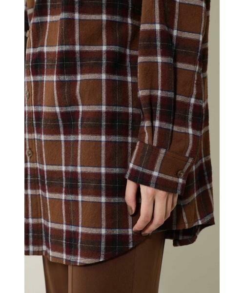 ROSE BUD / ローズ バッド シャツ・ブラウス | バックボタンビッグシャツ | 詳細12