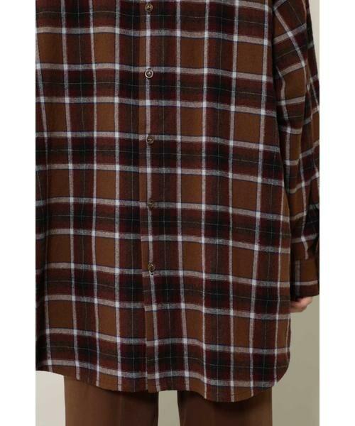 ROSE BUD / ローズ バッド シャツ・ブラウス | バックボタンビッグシャツ | 詳細13