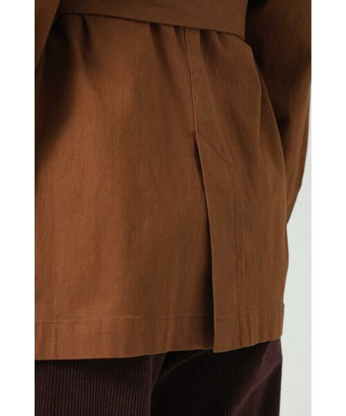 ROSE BUD / ローズ バッド アウター | ベルト付きジャケットブルゾン | 詳細11