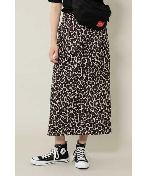 ROSE BUD / ローズ バッド スカート | ナローシルエットスカート(ブラウン)