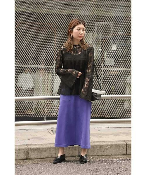 ROSE BUD / ローズ バッド スカート | ナローシルエットスカート | 詳細19