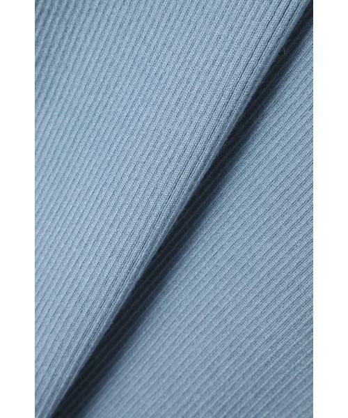 ROSE BUD / ローズ バッド ニット・セーター | アシメトリーネックリブニット | 詳細8