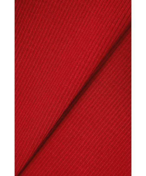 ROSE BUD / ローズ バッド ニット・セーター | アシメトリーネックリブニット | 詳細12