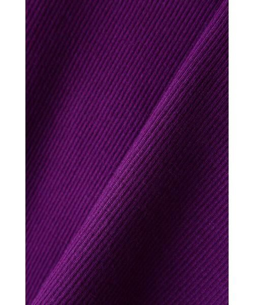 ROSE BUD / ローズ バッド ニット・セーター | アシメトリーネックリブニット | 詳細20