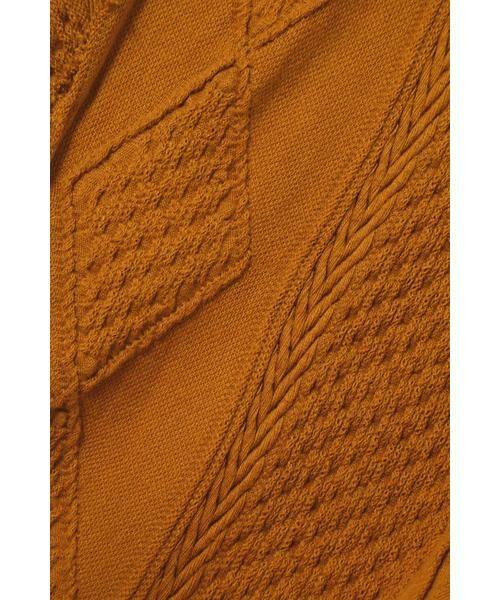 ROSE BUD / ローズ バッド スカート | ケーブルマキシスカート | 詳細4