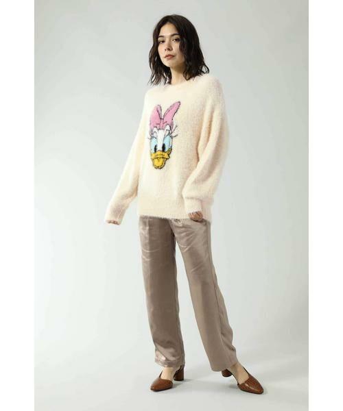 ROSE BUD / ローズ バッド ニット・セーター | ディズニーキャラクターデザインニット | 詳細1