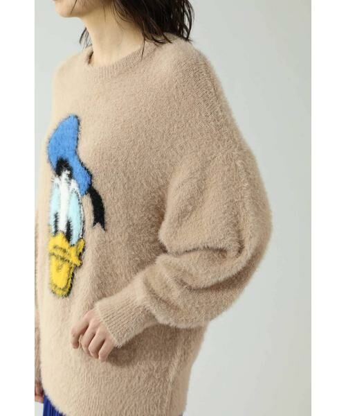 ROSE BUD / ローズ バッド ニット・セーター | ディズニーキャラクターデザインニット | 詳細9
