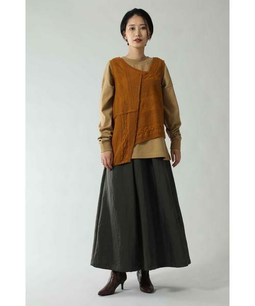 ROSE BUD / ローズ バッド スカート | フレアロングスカート | 詳細4