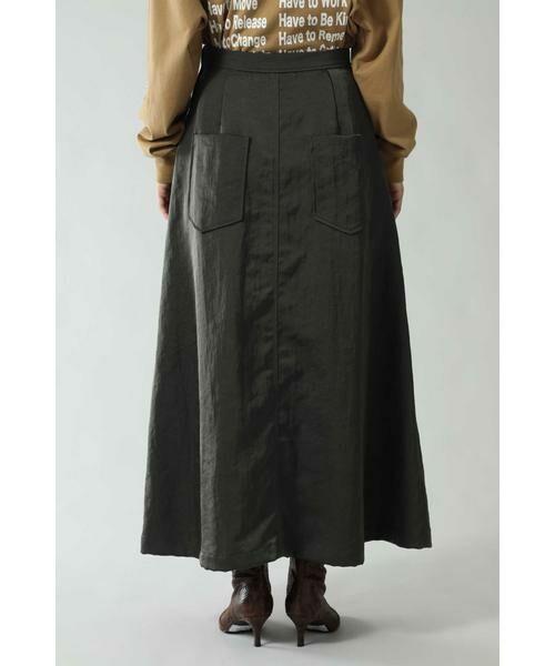 ROSE BUD / ローズ バッド スカート | フレアロングスカート | 詳細7