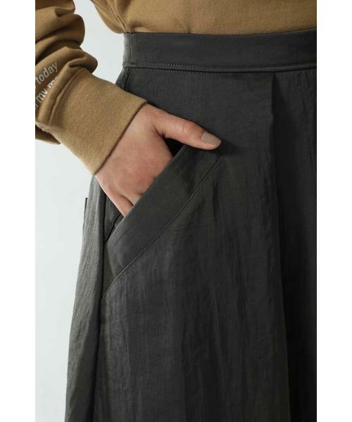 ROSE BUD / ローズ バッド スカート | フレアロングスカート | 詳細9
