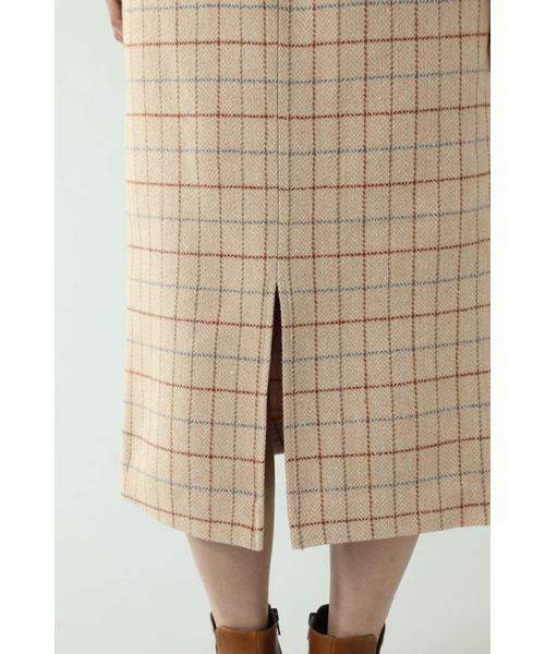 ROSE BUD / ローズ バッド スカート   チェックラインスカート   詳細14