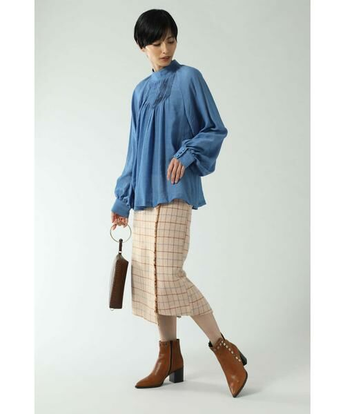 ROSE BUD / ローズ バッド スカート   チェックラインスカート   詳細6