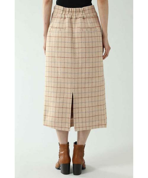 ROSE BUD / ローズ バッド スカート   チェックラインスカート   詳細9