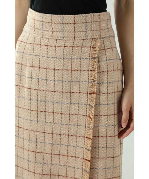 ROSE BUD / ローズ バッド スカート   チェックラインスカート   詳細10