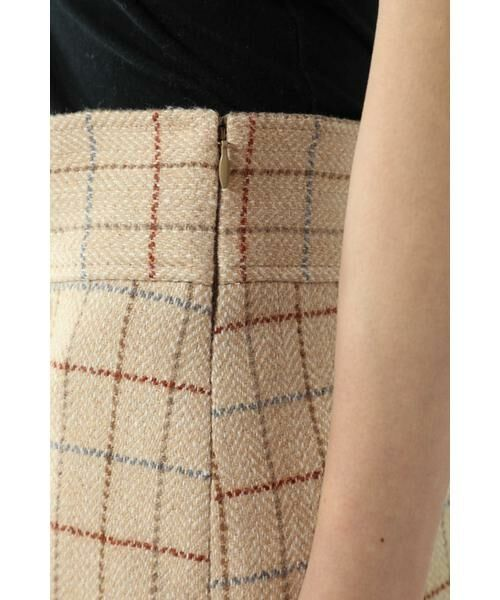 ROSE BUD / ローズ バッド スカート   チェックラインスカート   詳細11