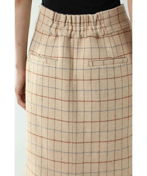 ROSE BUD / ローズ バッド スカート   チェックラインスカート   詳細12