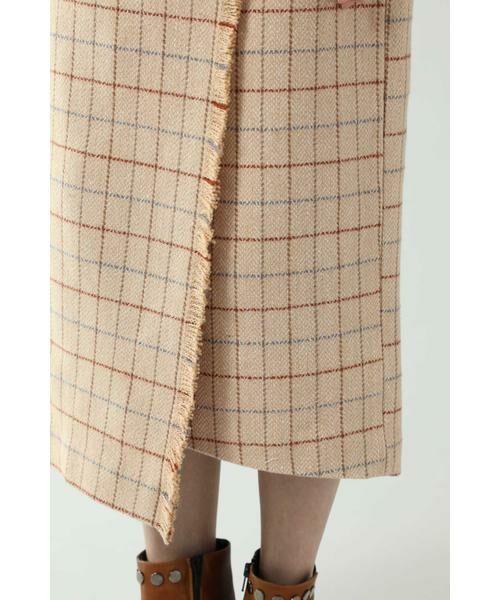 ROSE BUD / ローズ バッド スカート   チェックラインスカート   詳細13