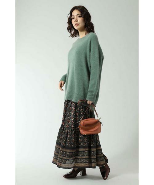 ROSE BUD / ローズ バッド スカート | フォークロア柄スカート | 詳細1