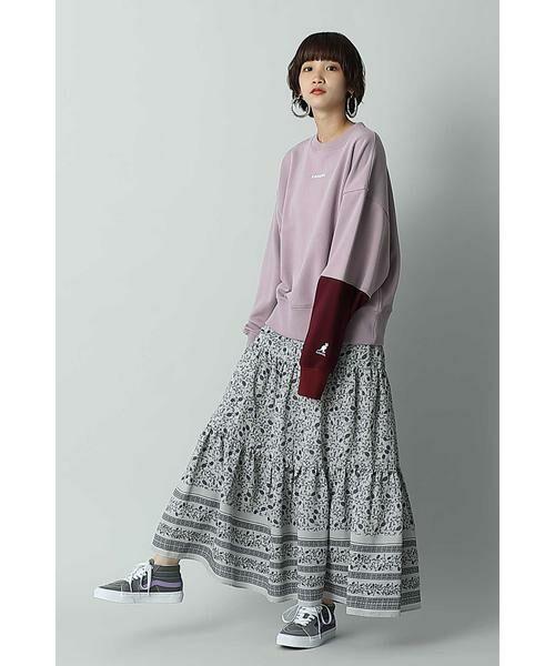ROSE BUD / ローズ バッド スカート | フォークロア柄スカート | 詳細4