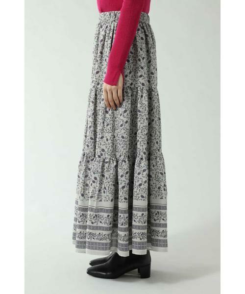 ROSE BUD / ローズ バッド スカート | フォークロア柄スカート | 詳細6
