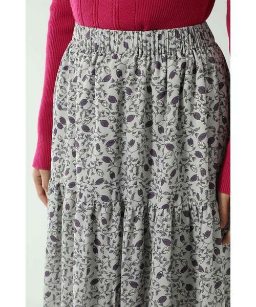 ROSE BUD / ローズ バッド スカート | フォークロア柄スカート | 詳細8