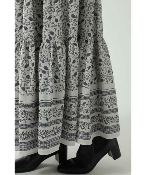 ROSE BUD / ローズ バッド スカート | フォークロア柄スカート | 詳細9