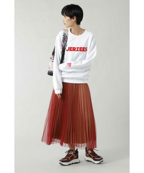 ROSE BUD / ローズ バッド スカート | チュールプリーツスカート | 詳細1