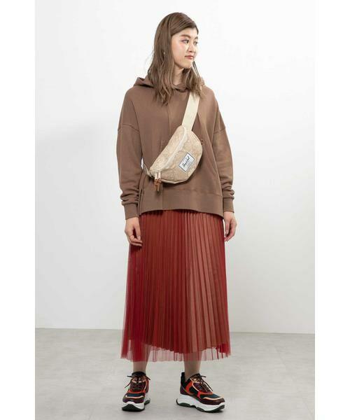 ROSE BUD / ローズ バッド スカート | チュールプリーツスカート | 詳細10
