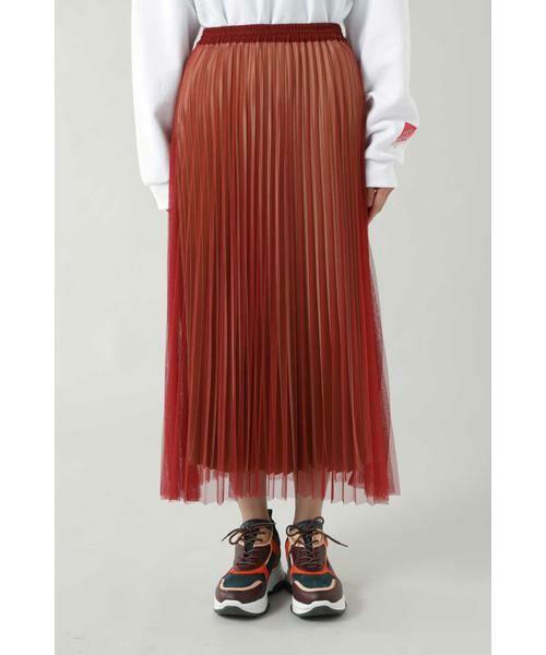 ROSE BUD / ローズ バッド スカート | チュールプリーツスカート | 詳細2