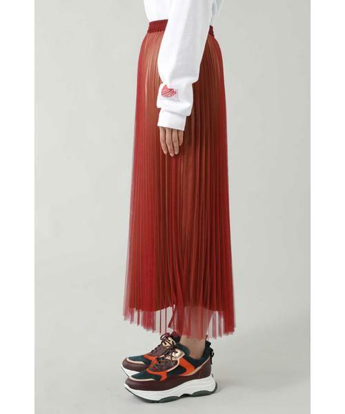 ROSE BUD / ローズ バッド スカート | チュールプリーツスカート | 詳細3