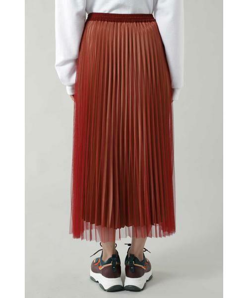 ROSE BUD / ローズ バッド スカート | チュールプリーツスカート | 詳細4