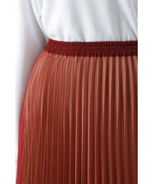 ROSE BUD / ローズ バッド スカート | チュールプリーツスカート | 詳細5